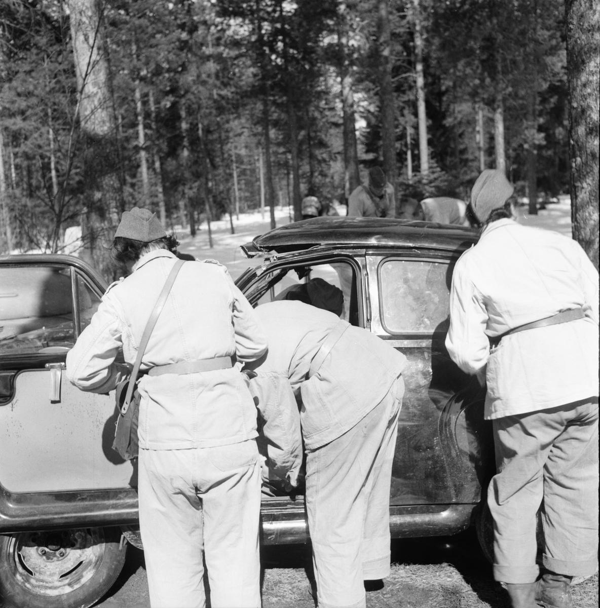 Röda Kors-kurs Fr.Wijnbladh Stagården 19/4 1956