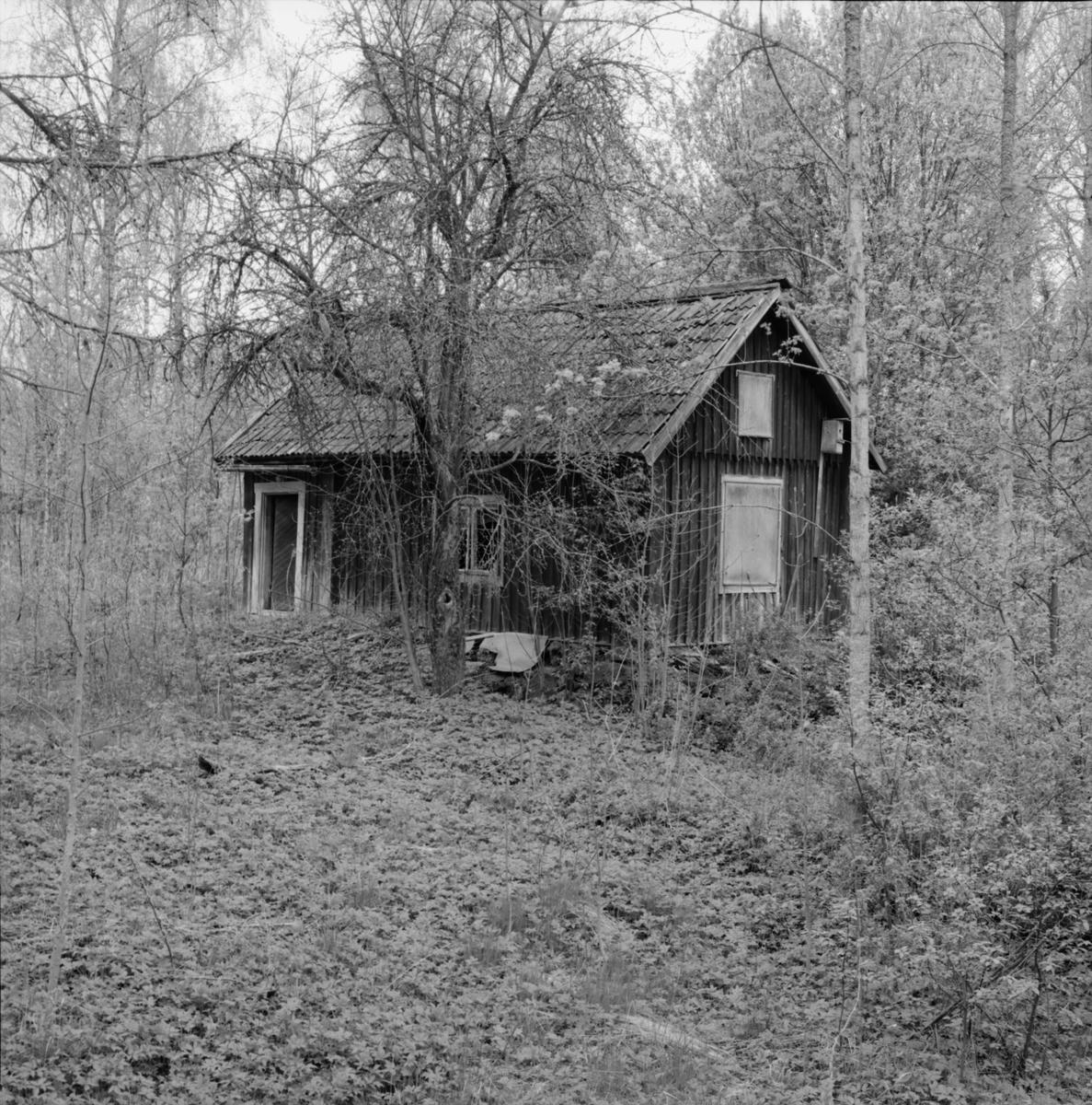 Bostadshus, torp, Dannemora Gruvor AB, Dannemora, Uppland maj 1991