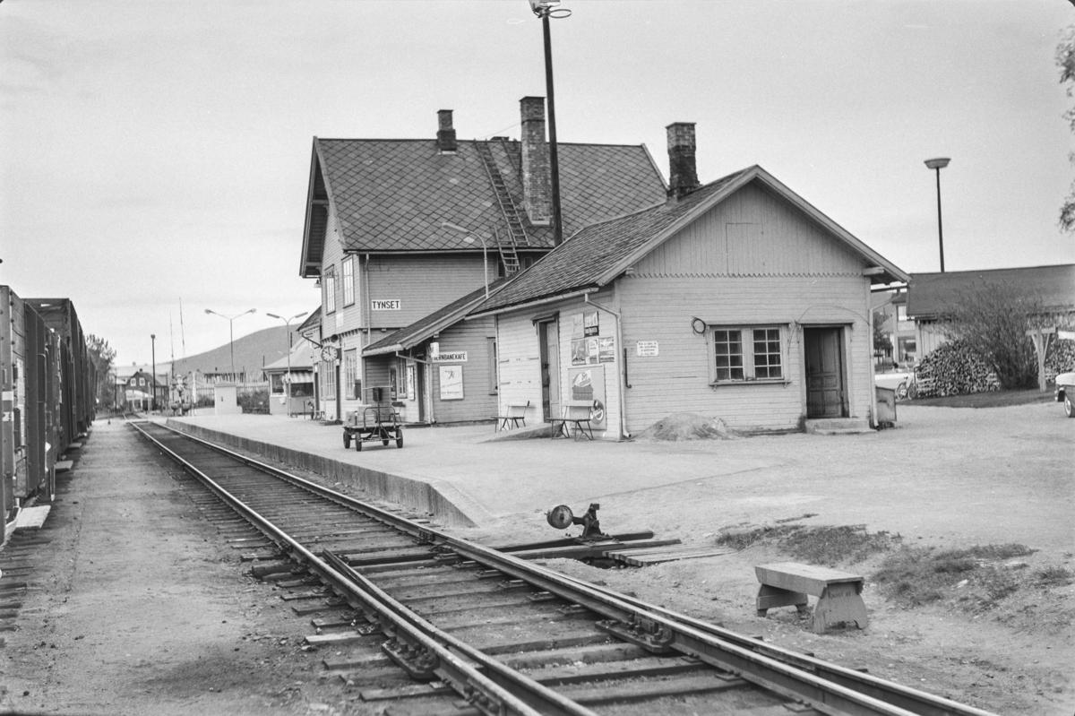 Tynset stasjon på Rørosbanen.