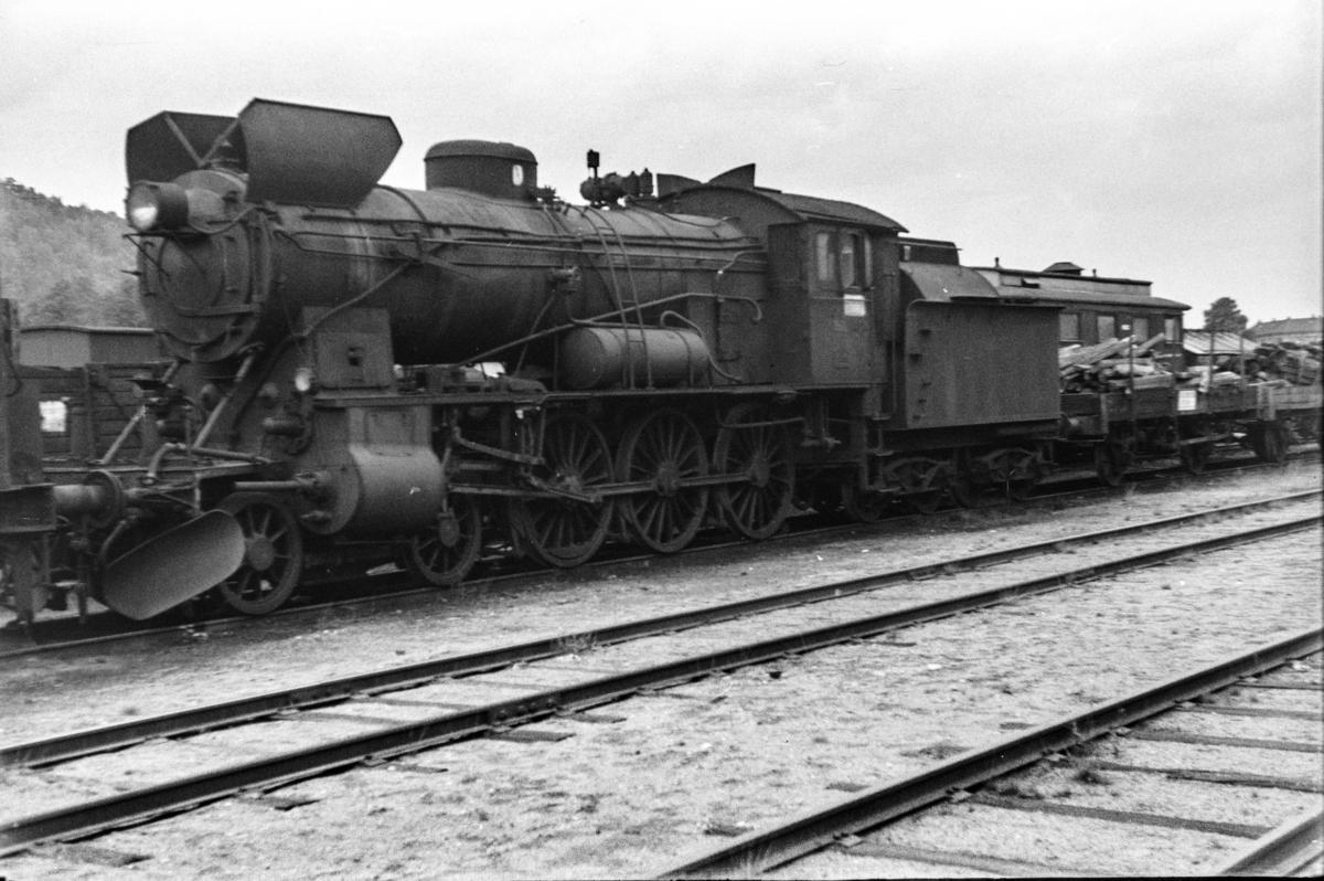 Utrangert damplokomotiv type 30b nr. 366 i Lodalen i Oslo.