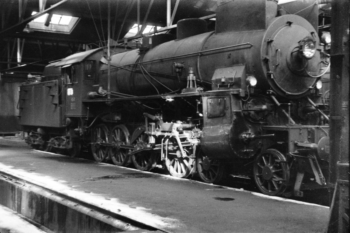Damplokomotiv type 31b nr. 450 i Gamlestallen i Lodalen i Oslo.