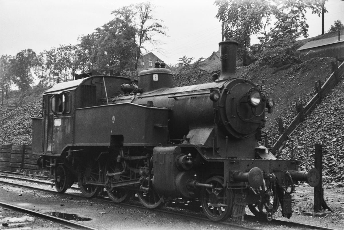 Damplokomotiv type 32a 288 i Lodalen i Oslo.