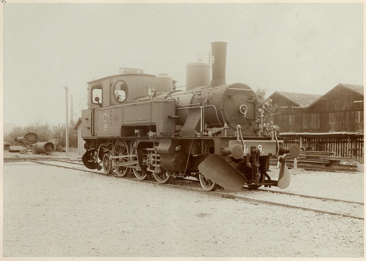 Norra Södermanlands Jernveg 9 Tillverkat Krauss & Co AG 1899