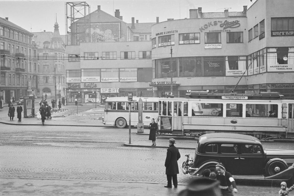 Majorstukrysset i Oslo.