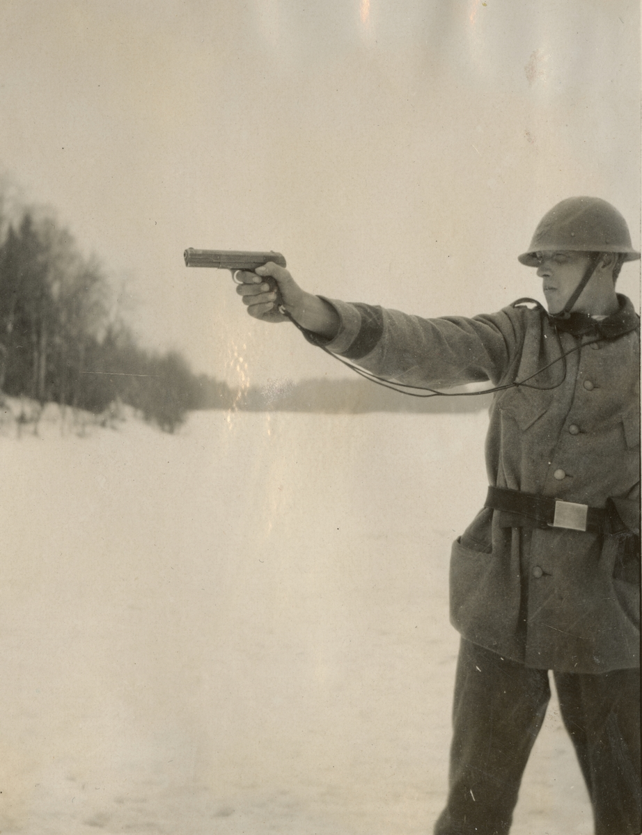 Stormsoldatskolan våren 1924.