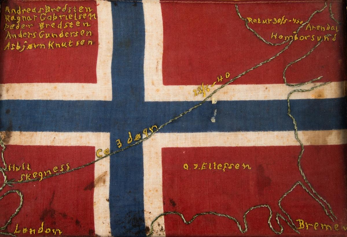 Kartkonturer Norge, Nederland,