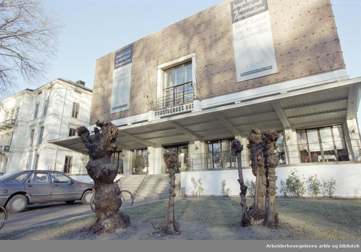 Oslo: Kunstnernes Hus. 20. november 1995