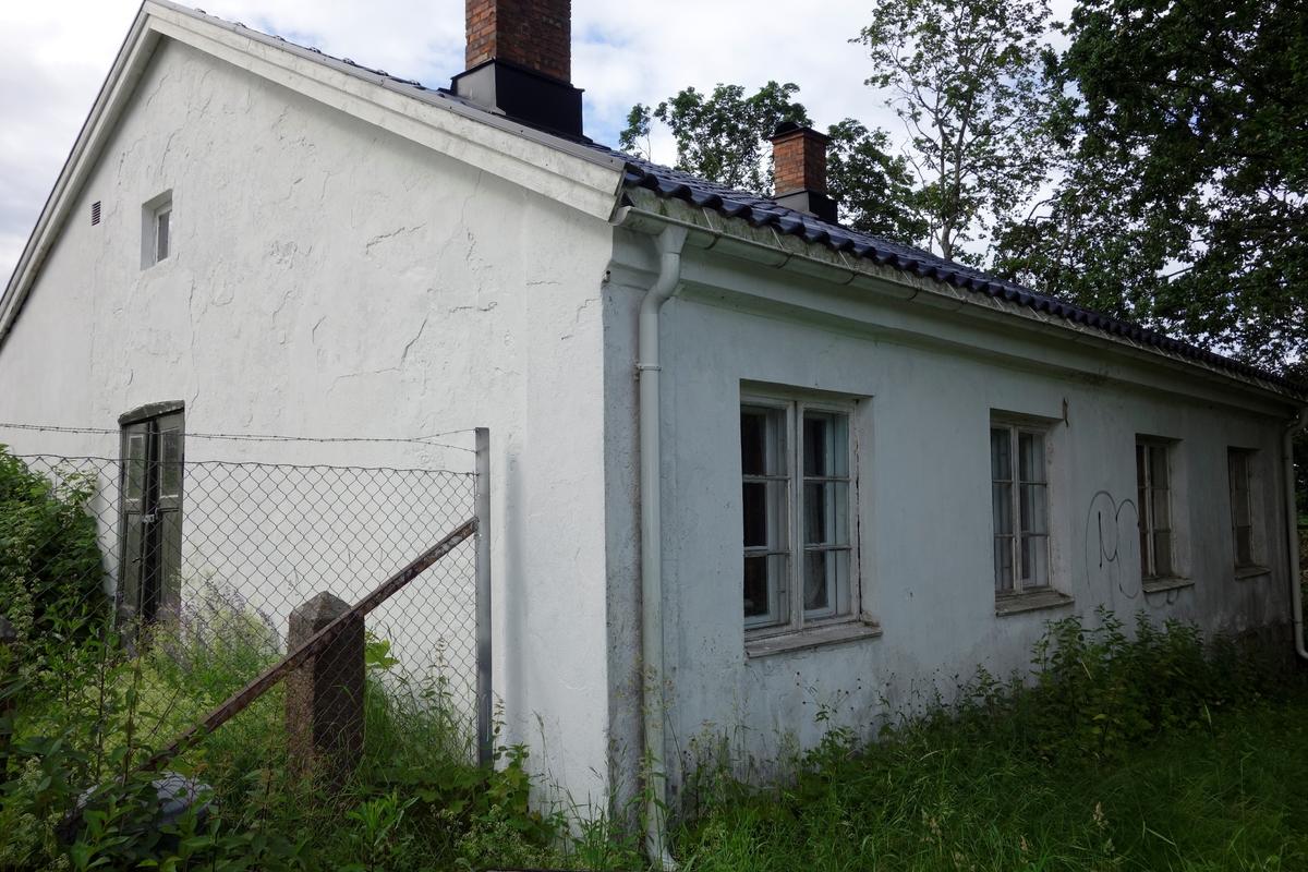Gartnerbolig med drivhus, fra ca. 1850