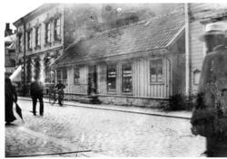 Bild 1: Foto efter 1912-07-04, då Albert Skantze fick förelä