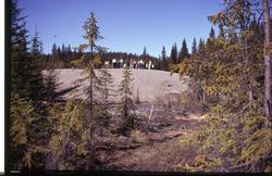 Geologiske lokaliteter og lokaliteter det har vært drevet be