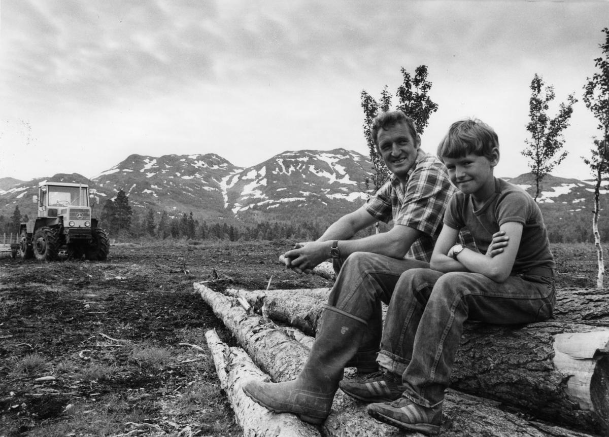 Far og sønn, Harald og Harald Kaasen
