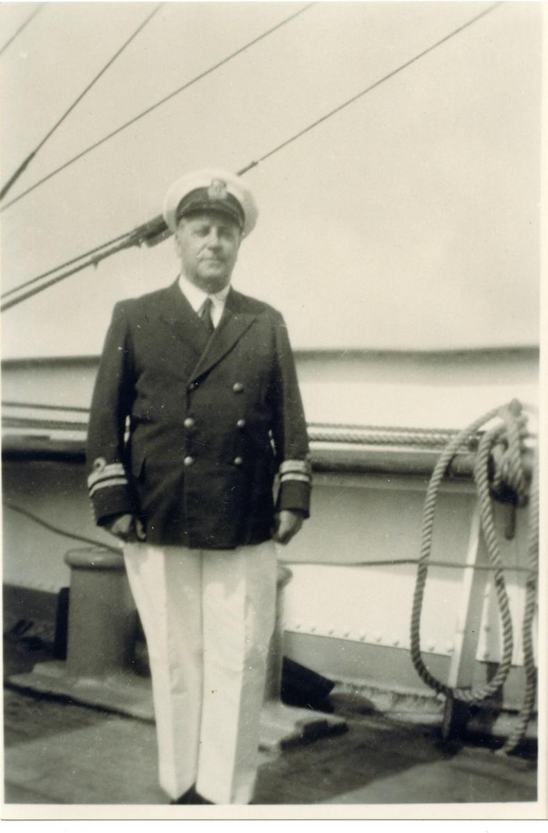 Sjökapten verksam på Åland.