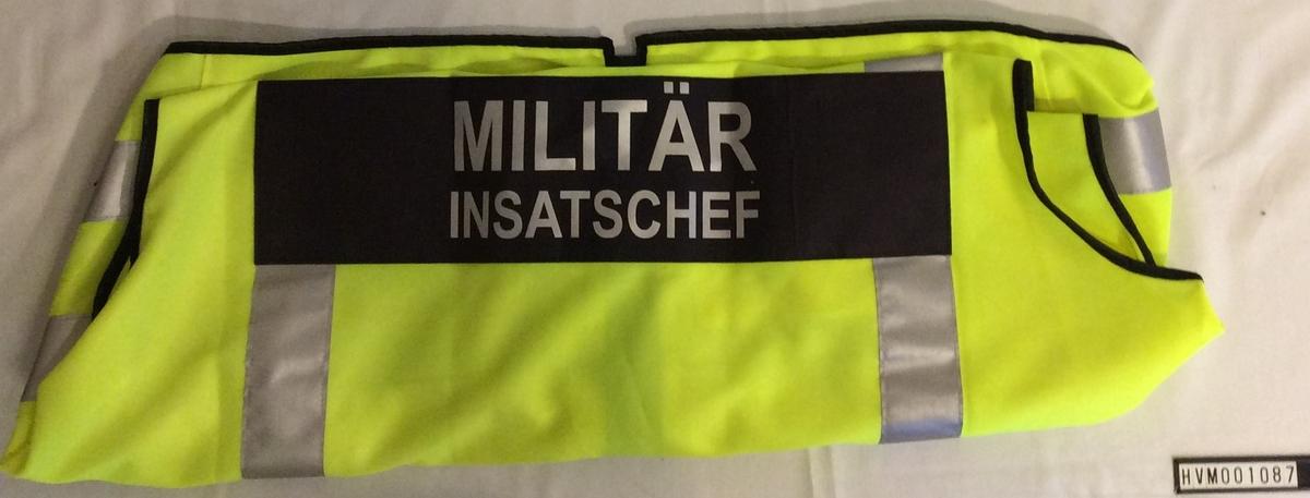 Militär insatschef