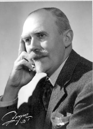 Porträtt av målarmästare Carl Berggren.