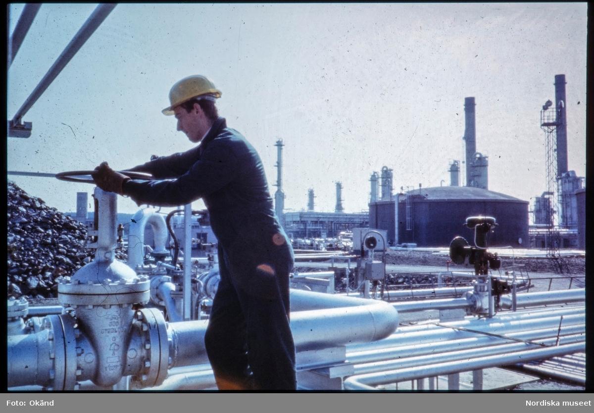 Olje- och bensinindustri