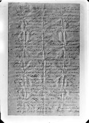 Kroppåsbrev daterat 1872. Sör Rasgärde, Munktorp sn. Inledan