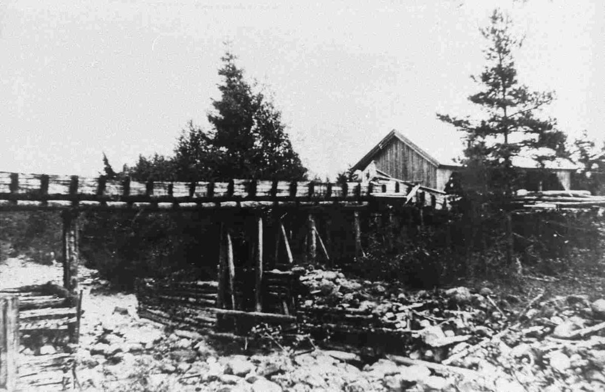 Bilder fra Birkenes kommune Flak sag i 1929