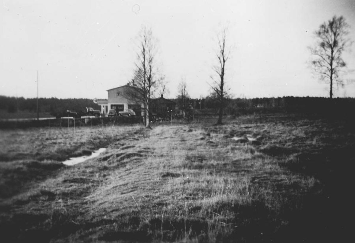 Bjastadkrysset - Solheim før Europaveien var brudt igjennom.