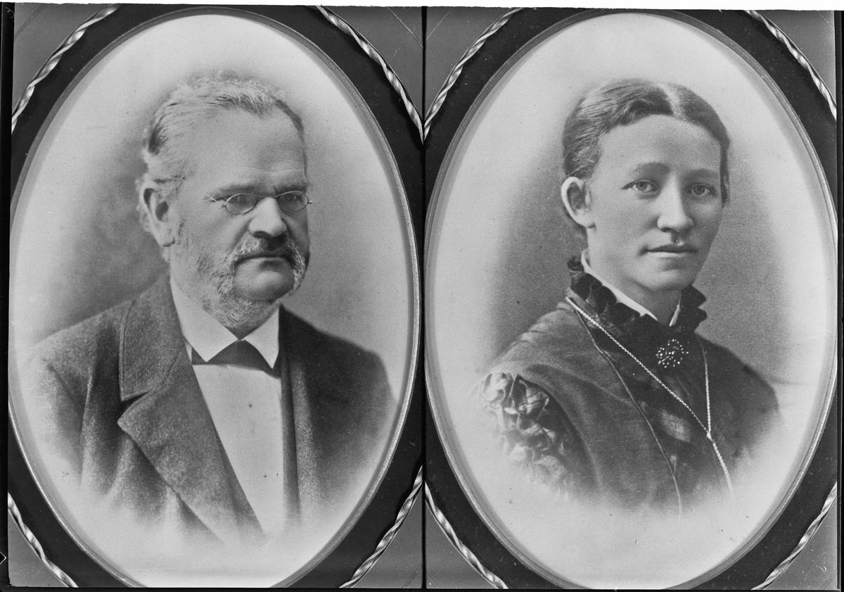 Kvinne og mann.