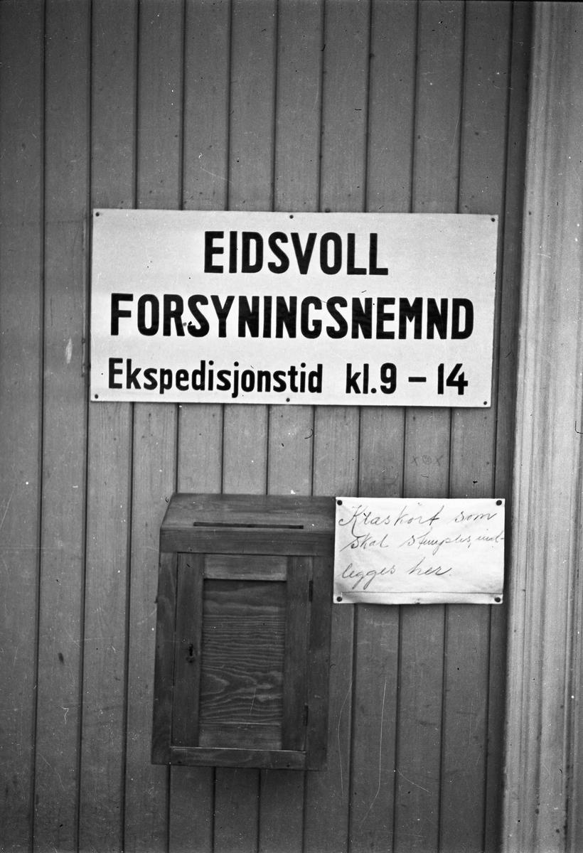 Forsyningsnemnda var et viktig kontor for folk flest.