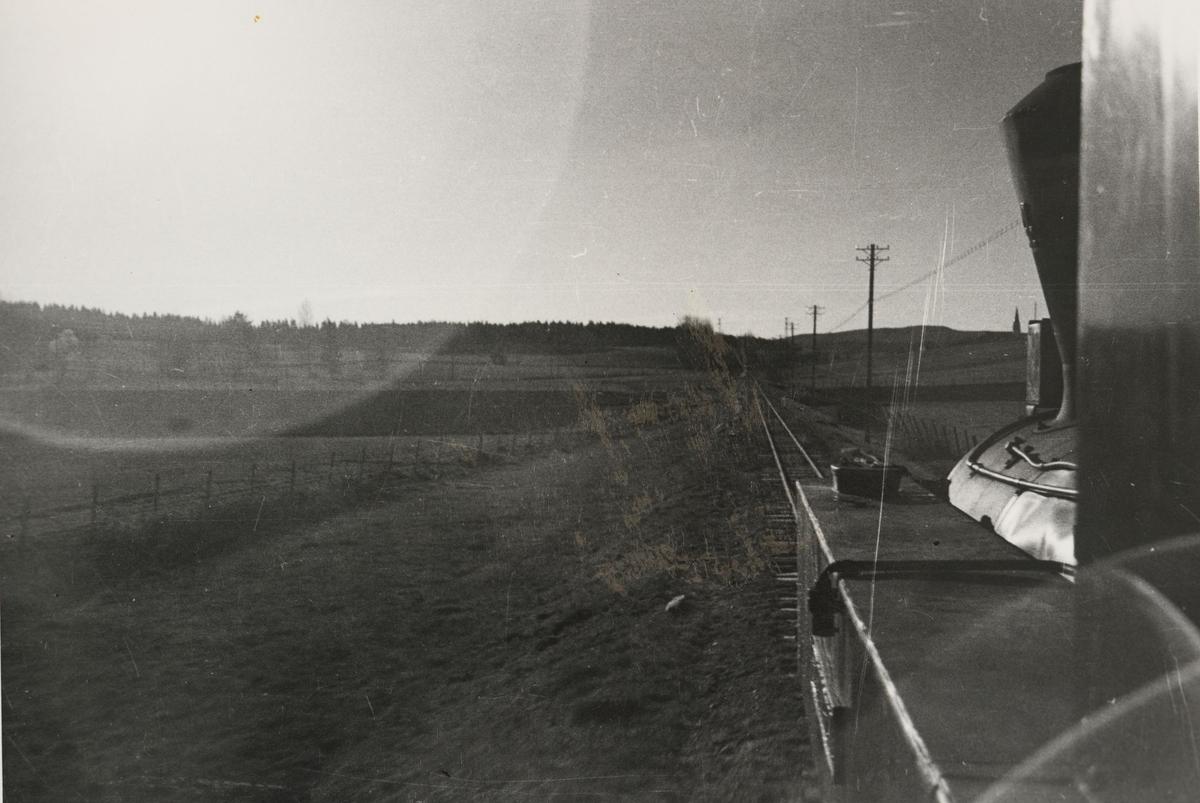 Underveis retning Skulerud. Fotografert fra fyrbøterplassen.