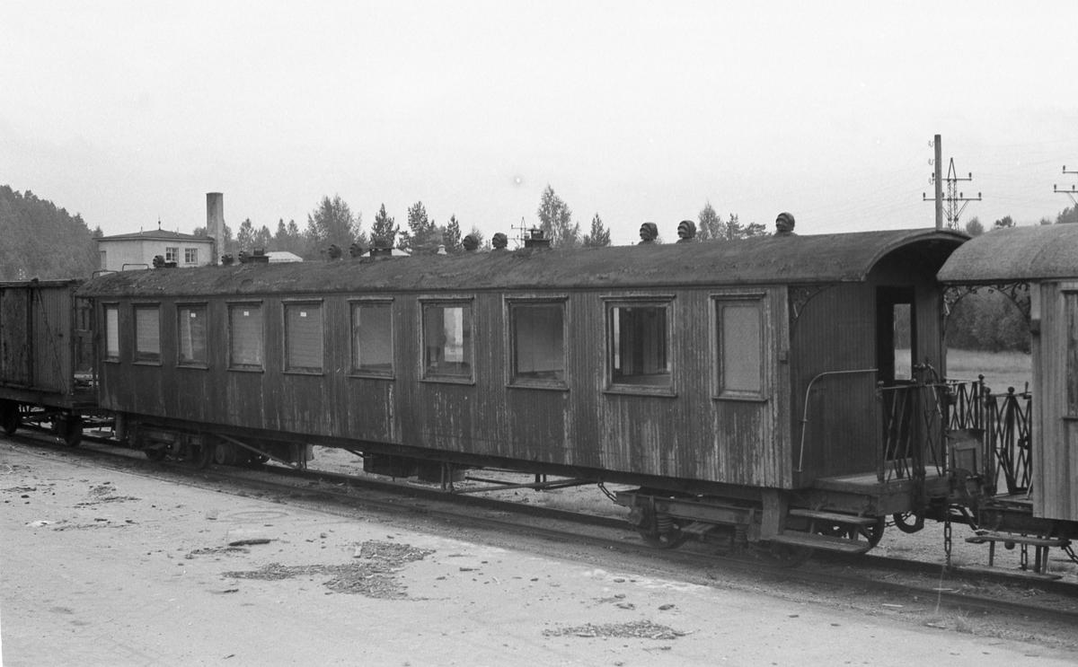 Setesdalsbanens personvogn Bo 335.