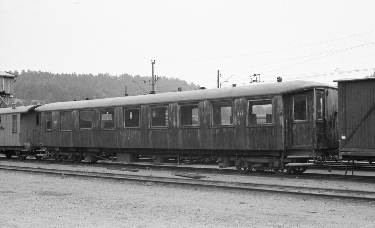 Setesdalsbanens personvogn Bo 333