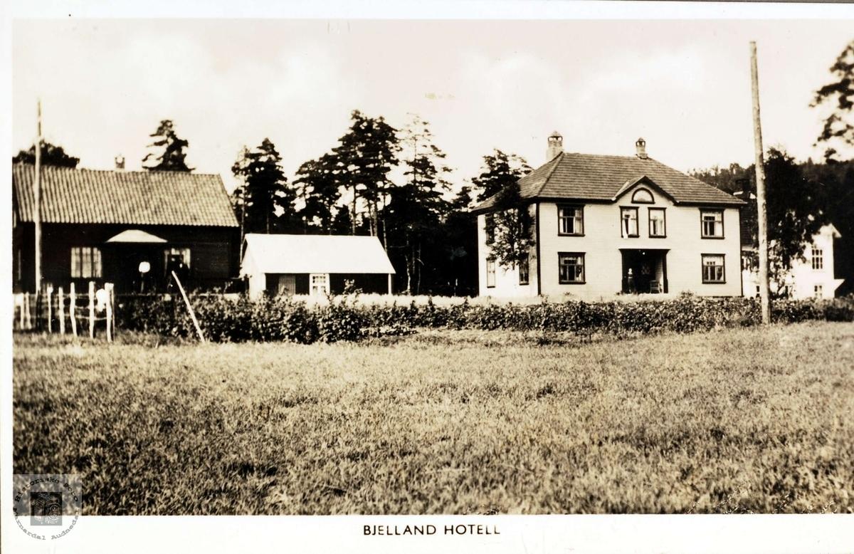 Bjelland Hotell.