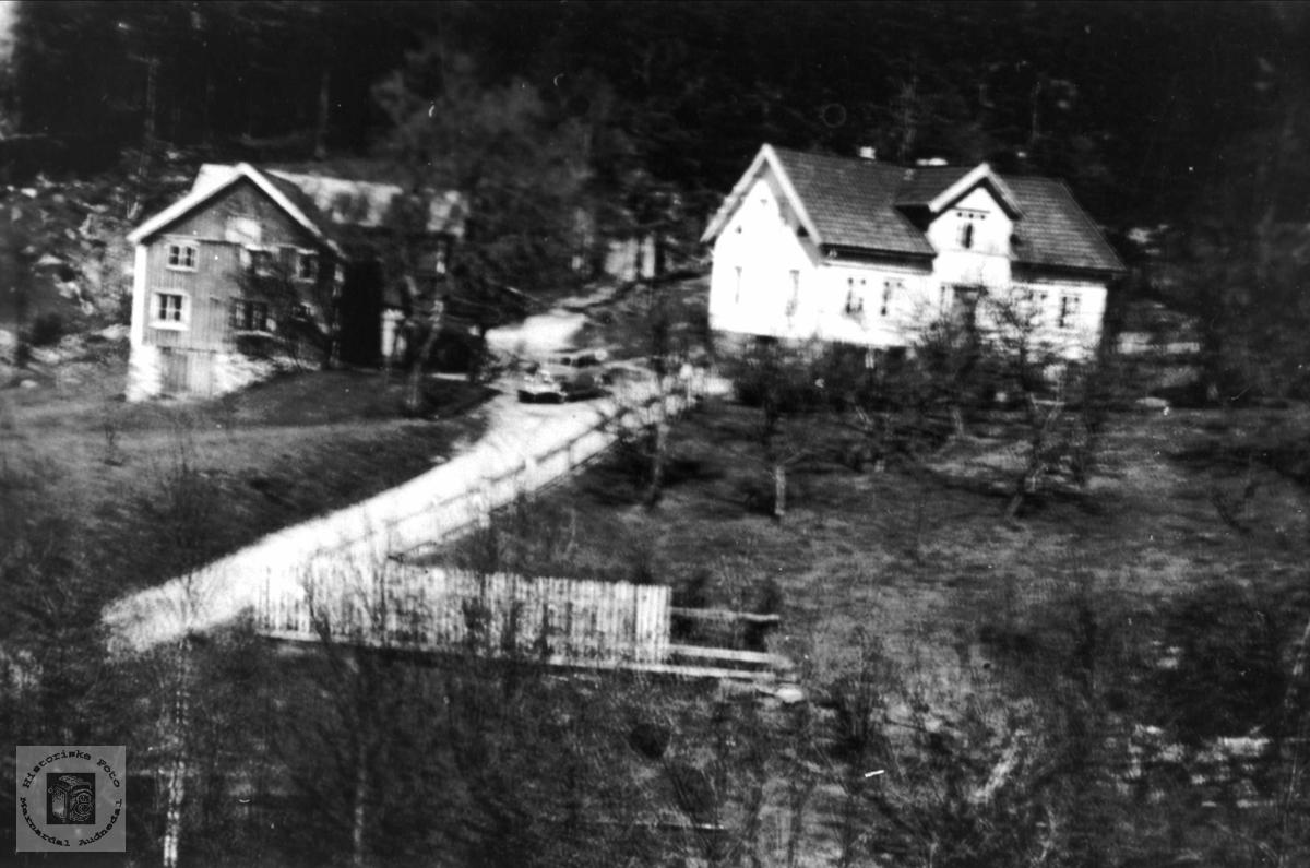 Gardsbruk på Høye i Øyslebø.