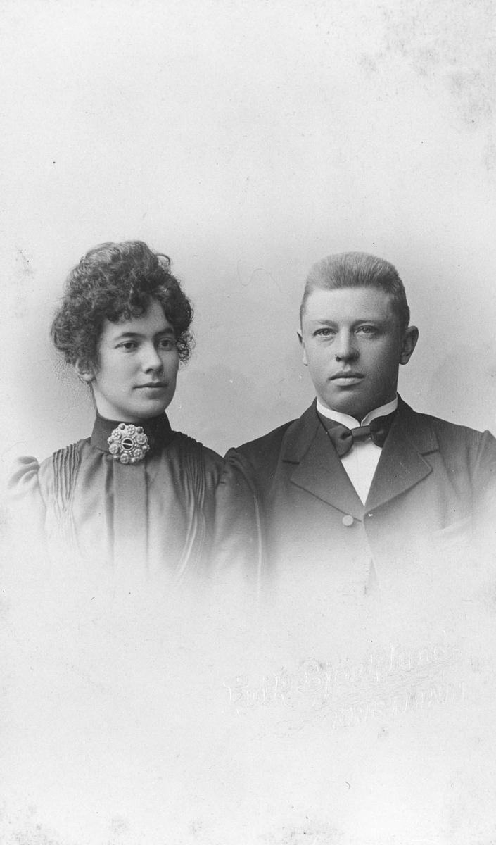 Anton Halvorsen Rustad og Jenny Lie.