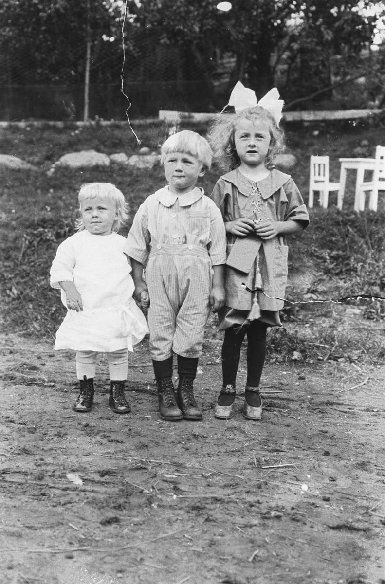Barna på Fåle: Gudrun, Jens, og Else Margrethe