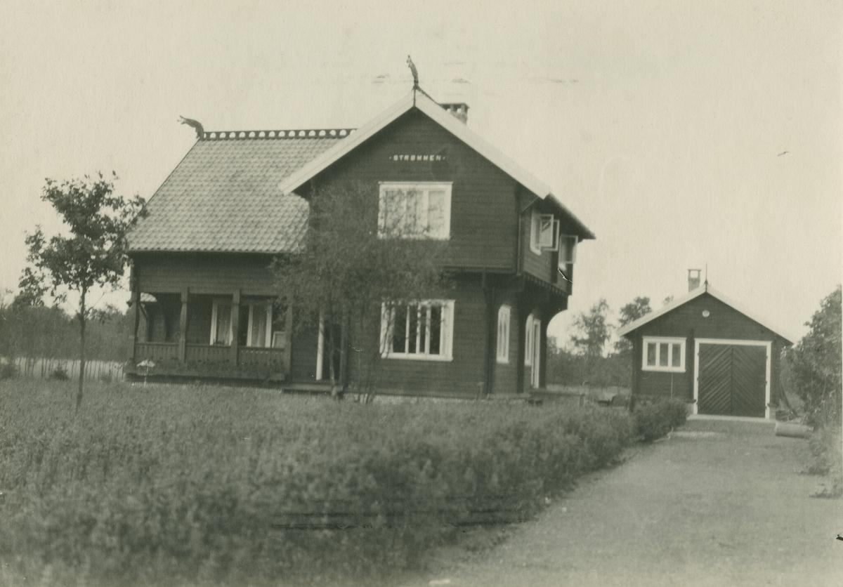 Laftehus fra Strømmen Trævarefabrikk i Nederland
