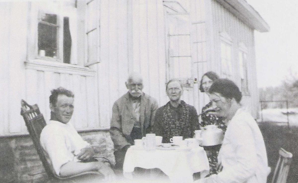 Familiebilde på Bjerknes ca. 1930-34