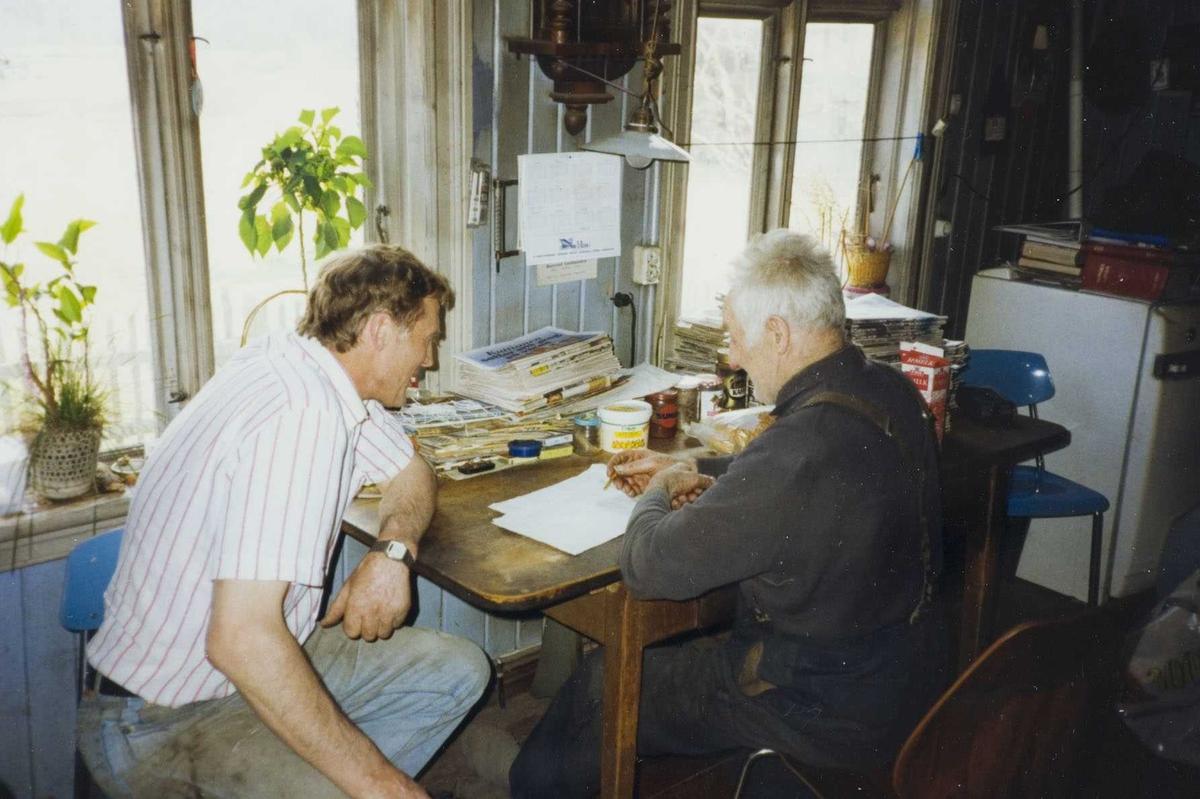 På kjøkkenet hos Herman Sandem
