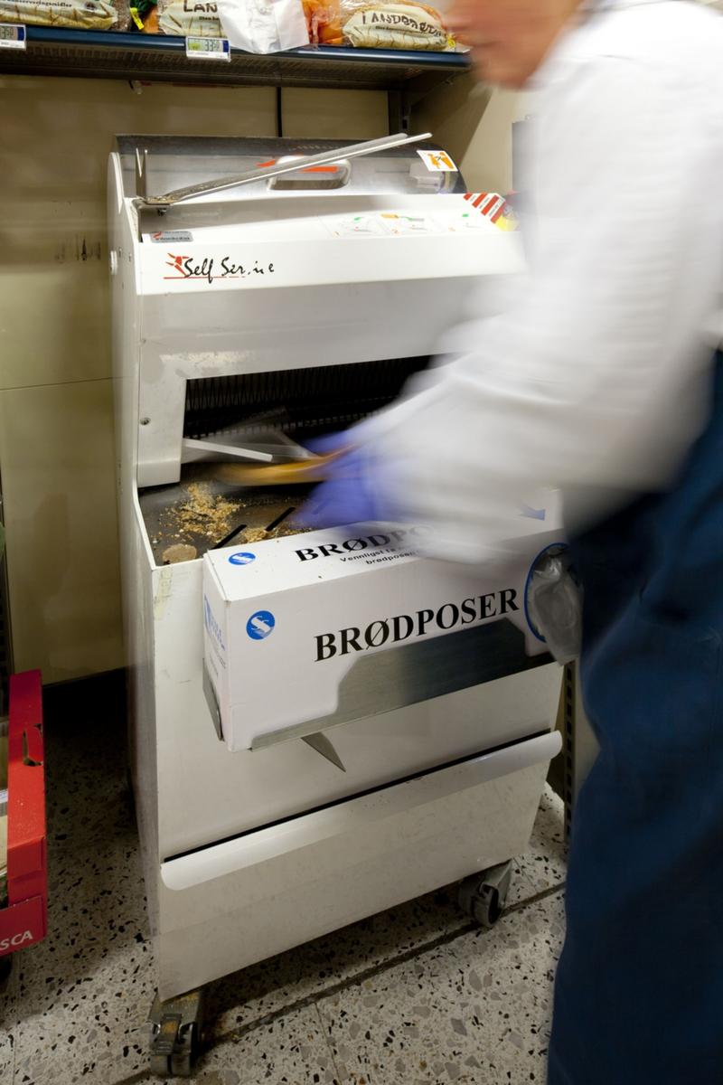 Brødavdelingen på Coop Mega Årnes