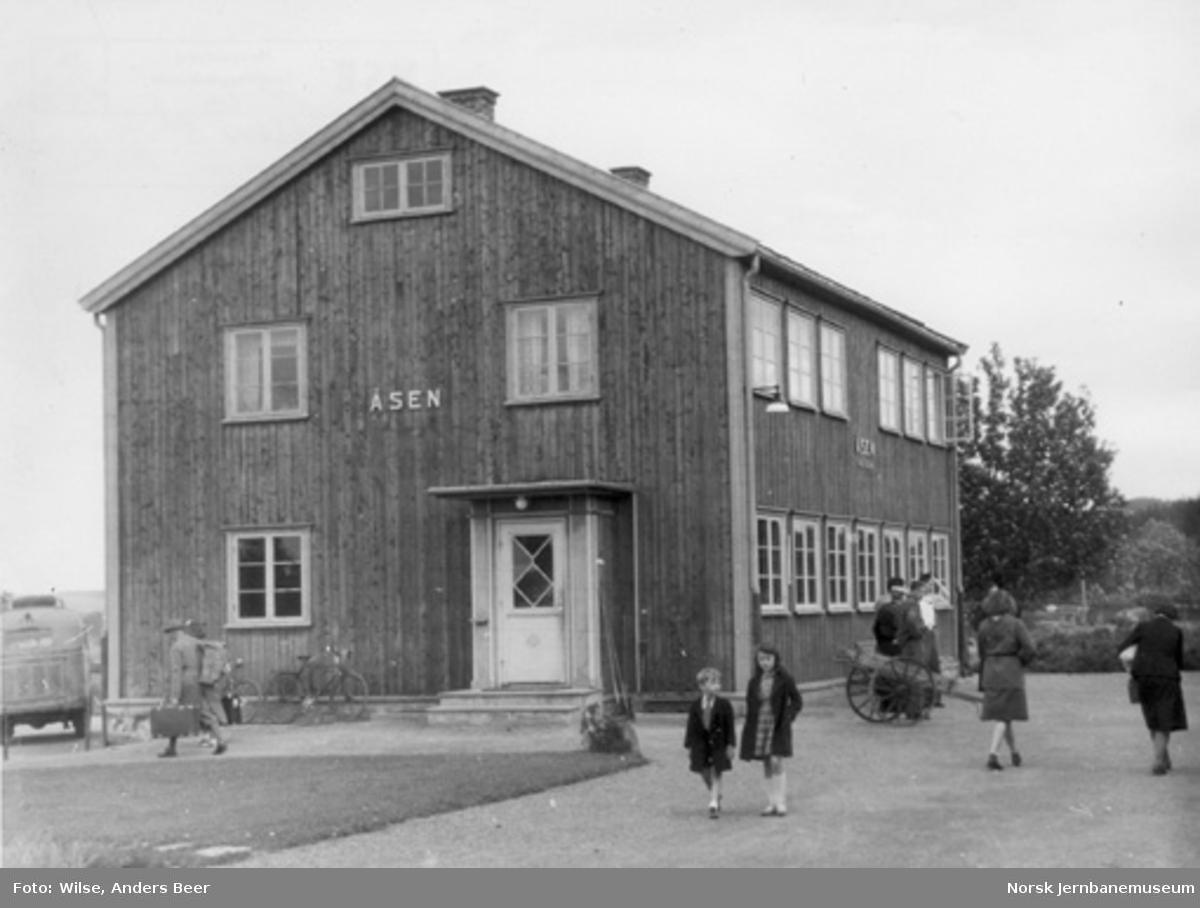 Åsen stasjonsbygning
