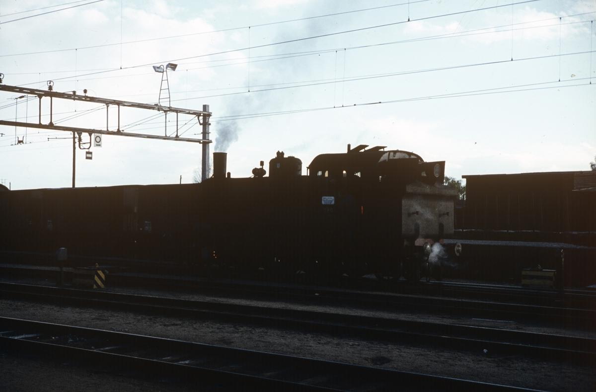 Skifting med damplokomotiv 290 type 32b